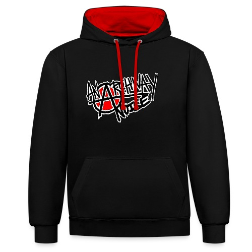 Anarchway Noise - Contrast Colour Hoodie