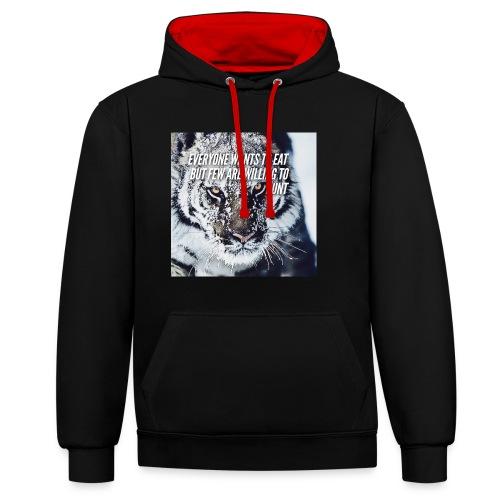Eat Hunt - Contrast hoodie