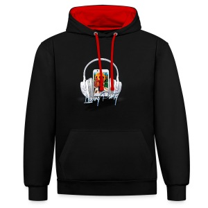 Untitled-2-png - Contrast Colour Hoodie
