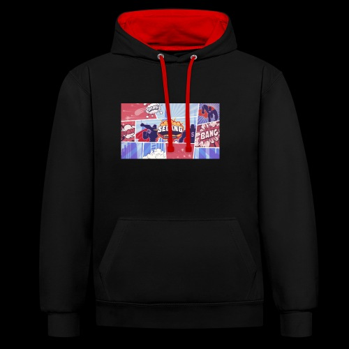 SEGANG POWER - Contrast Colour Hoodie