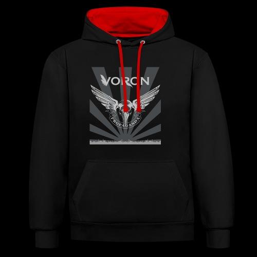 Voron - Propaganda - Sweat-shirt contraste