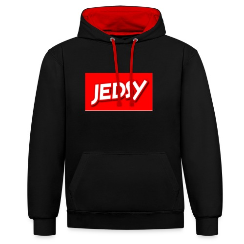 JEDSY - Contrast Colour Hoodie