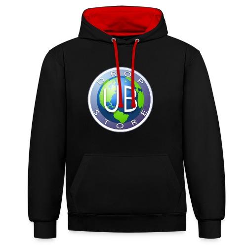 DropStore UB Logo - Kontrast-hettegenser