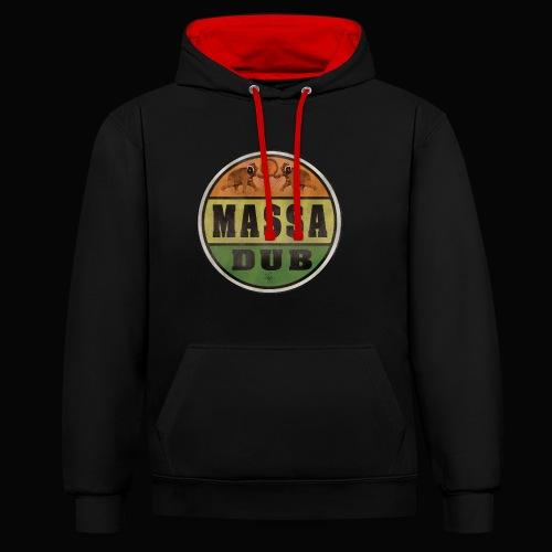 Logo de Massa Dub - Sweat-shirt contraste