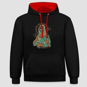 The eternity - Contrast Colour Hoodie