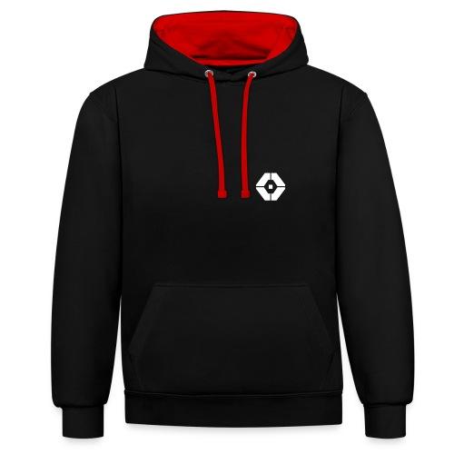 Ricover micro logo Hoodie - Contrast hoodie