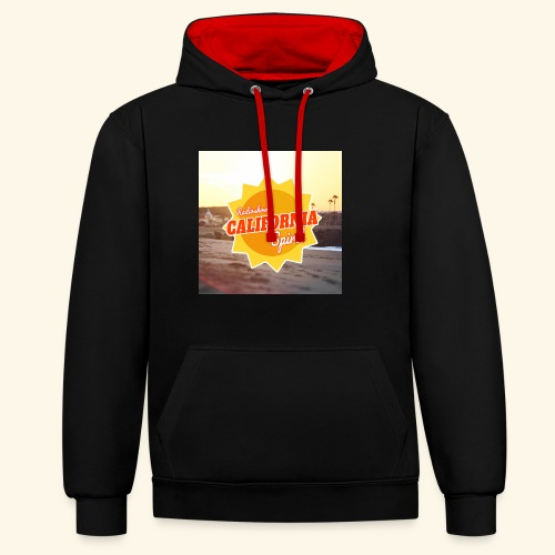 SunRise - Sweat-shirt contraste