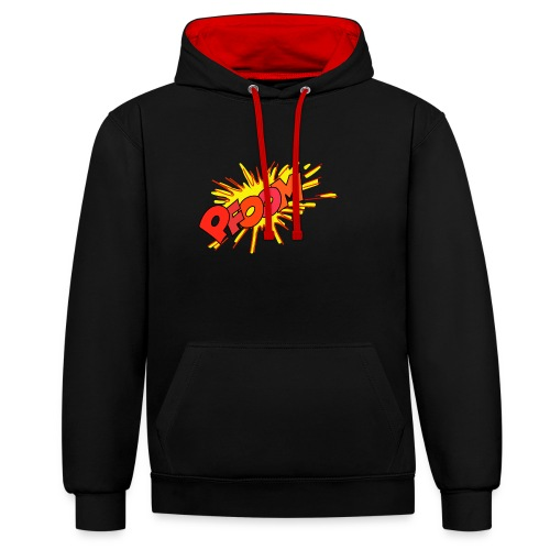 Explosion Bombe - Sweat-shirt contraste