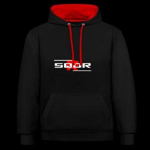 SQDRR | New Squadron R Design - Kontrast-Hoodie