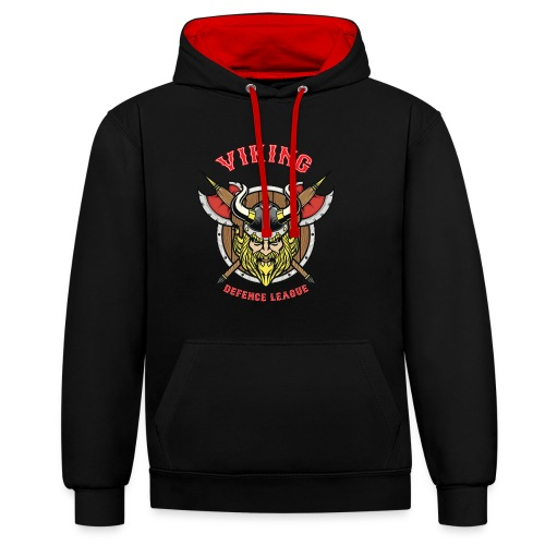 Viking League - Contrast Colour Hoodie