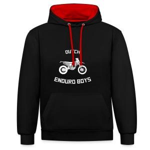 MOTORRETJE - Contrast hoodie