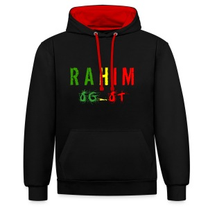 t-shirt design Rahim - Sweat-shirt contraste