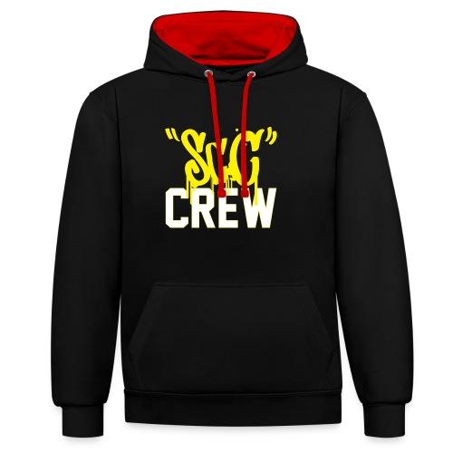 ScC CREW Logo Geel - Contrast hoodie