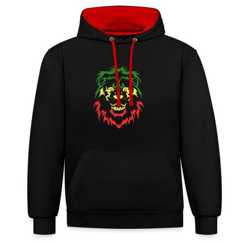 KARAVAAN Lion Reggae - Contrast hoodie