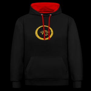 Eye of the Guardian - Kontrast-Hoodie