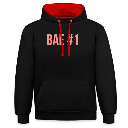 Bae #1 - Kontrast-Hoodie