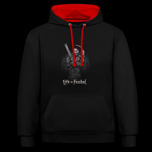 Life is Feudal Steam Badge 1 - Sweat-shirt contraste