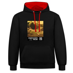 Camouflage Amber – Muskoka Collection 1708 - Kontrast-Hoodie