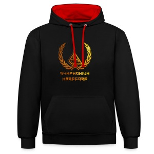 Symphonium one Gold - Sweat-shirt contraste
