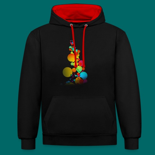 BUBLE - Contrast Colour Hoodie