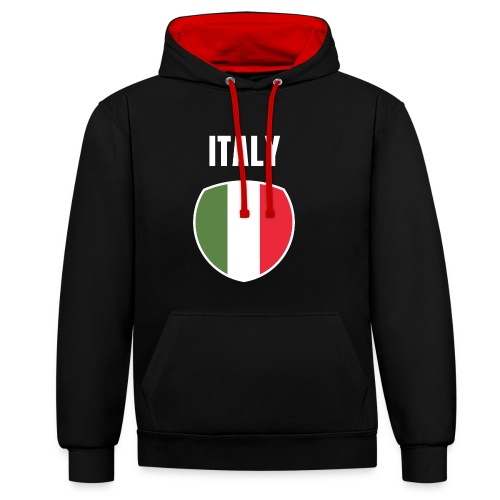 Pays Italie - Sweat-shirt contraste