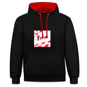 Mein erster Merchendise - Contrast Colour Hoodie