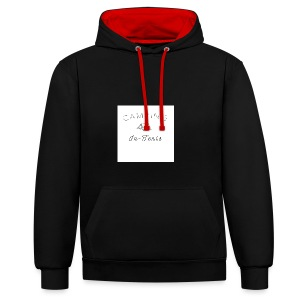 camping is in-tents - Contrast Colour Hoodie