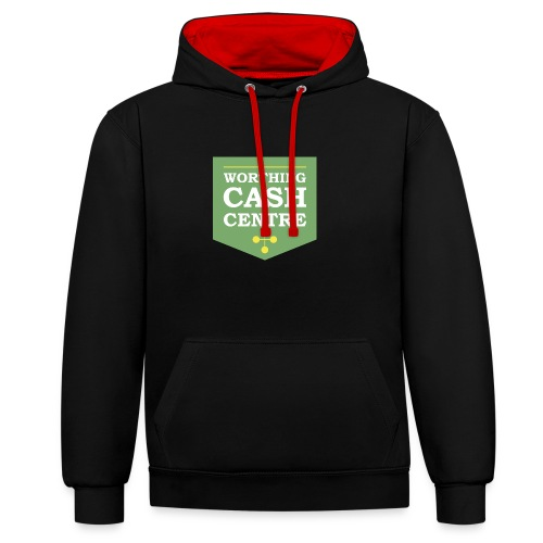 WCC - Test Image - Contrast Colour Hoodie