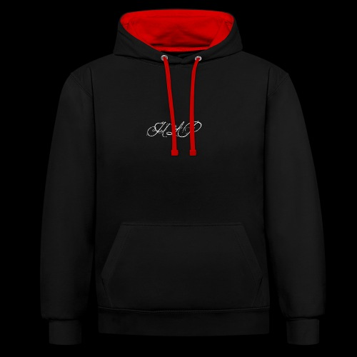 IMG 0233 - Contrast Colour Hoodie
