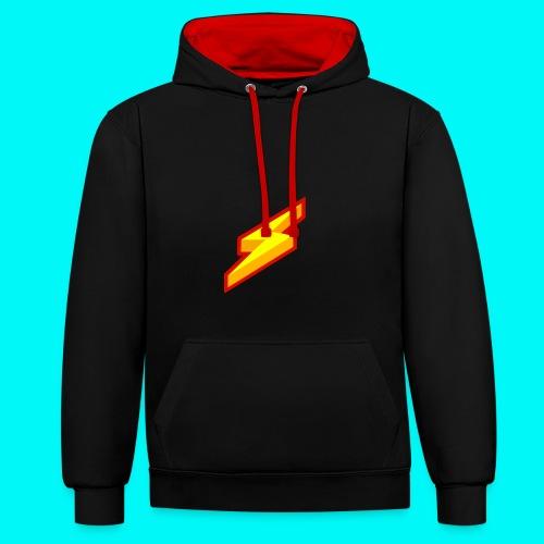 Lightning Shirt - Contrast hoodie