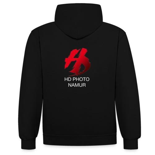 logo hd photo namur - Sweat-shirt contraste