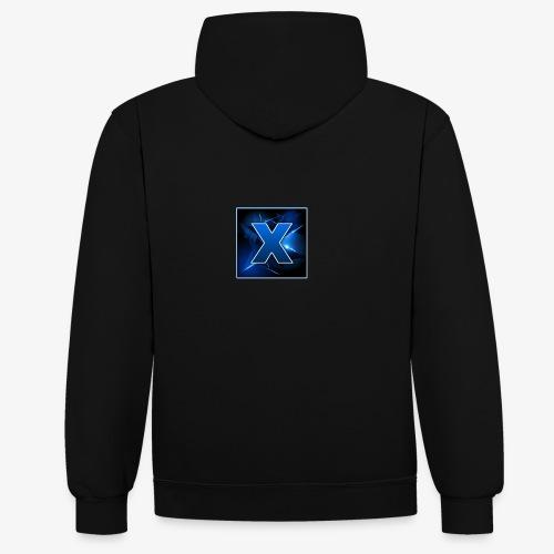 Team xScRix - Kontrast-Hoodie