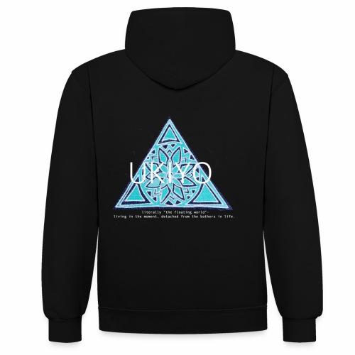 UKIYO - Contrast Colour Hoodie