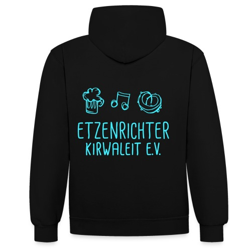 Etzenrichter Kirwaleit - Kontrast-Hoodie