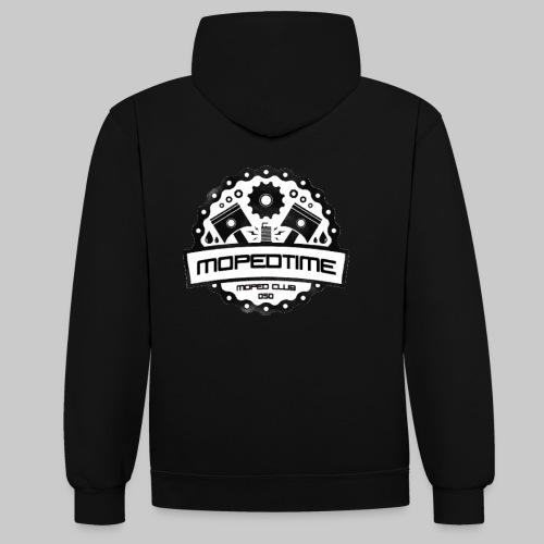 MopedTime - Contrast hoodie
