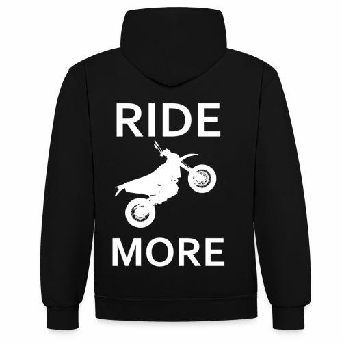 Ridemore - Kontrast-Hoodie