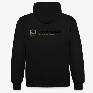 Shiny Box - Kontrast-Hoodie