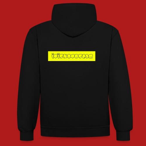 itisnotoscar - Contrast Colour Hoodie