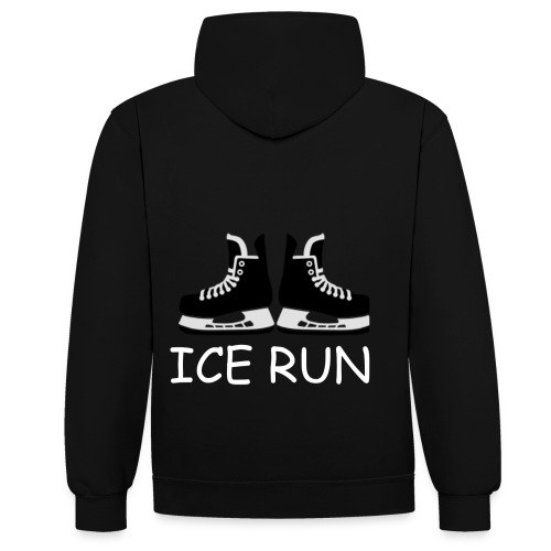Ice Run - Sweat-shirt contraste