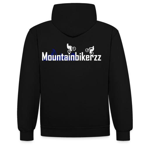 Mountainbikerzz - Kontrast-Hoodie
