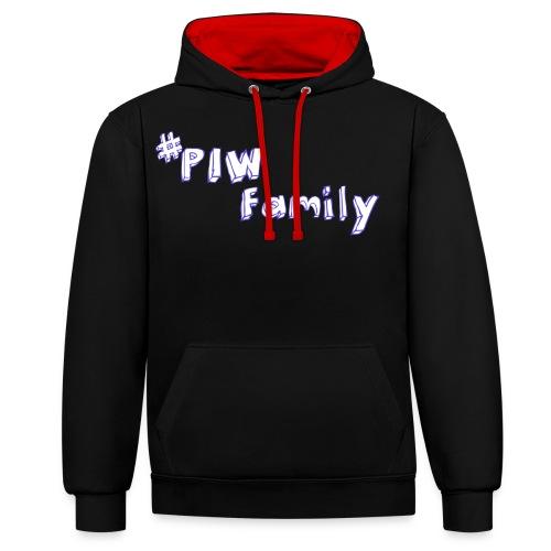 #PIW Family Fan Collection - Kontrast-Hoodie
