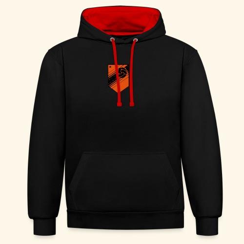 Dynamo Derbe Logo ohne Schrift - Kontrast-Hoodie
