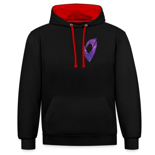 Limited Edition Space Logo - Contrast Colour Hoodie
