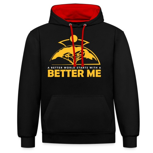 Better Me - Contrast Colour Hoodie