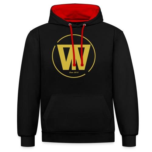 W/T Logo Tee - Guld - Kontrast-hættetrøje