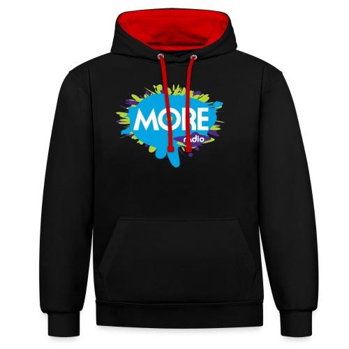 More Radio 2017 - Contrast hoodie