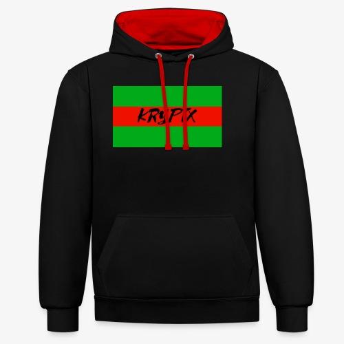 KRYPTX 2 - Sweat-shirt contraste