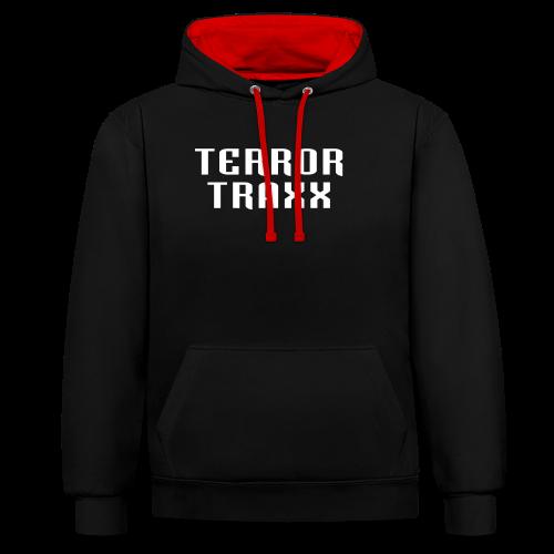 Terror Traxx - Contrast Colour Hoodie