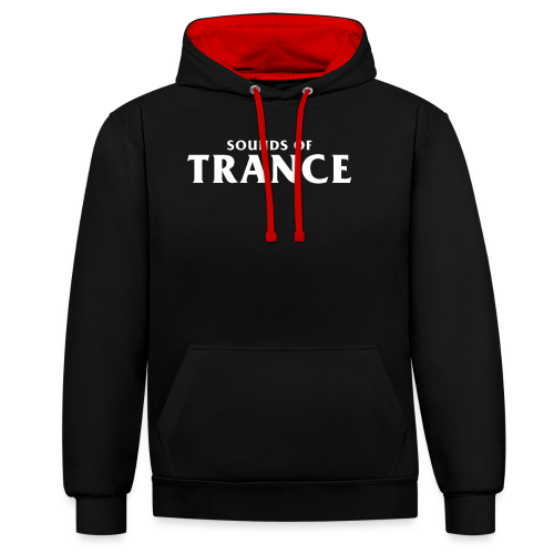 Sound Of Trance - Contrast Colour Hoodie