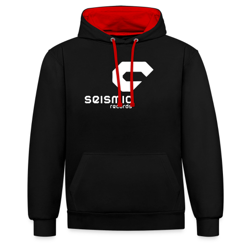 Seismic Records - Contrast Colour Hoodie